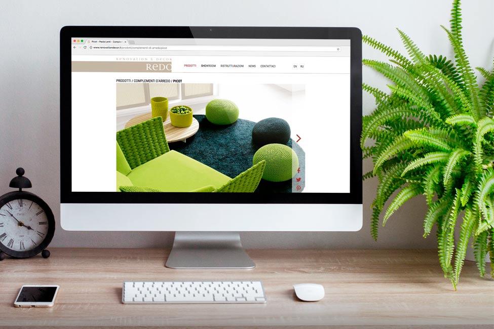 Progettazione siti internet per negozi di arredamento dodify for Siti di design e arredamento